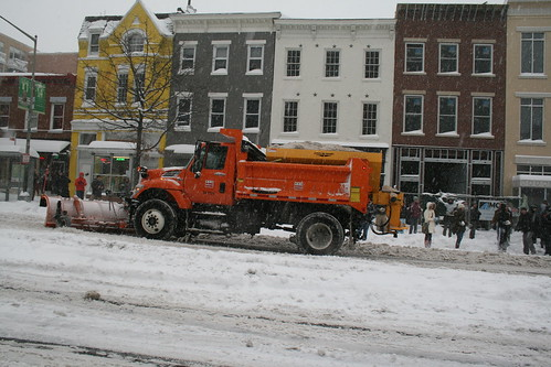 DDOT Plows Fourteenth Street