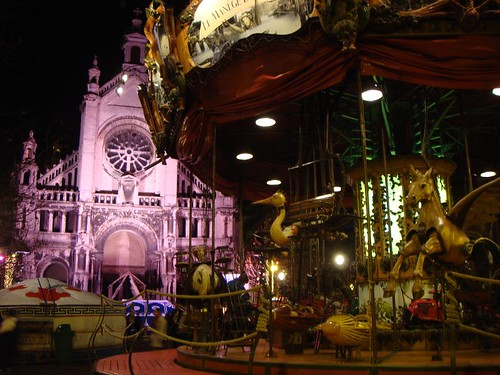Merry-go-round, Brussels, Xmas 2009.