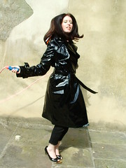 DSCF6718 (www.suziehigh.co.uk) Tags: rain mac coat vinyl plastic raincoat rainwear pvc slicker regenmantel