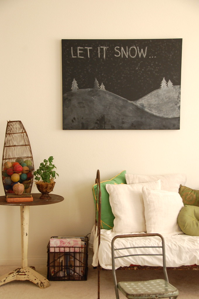 the chalkboard canvas