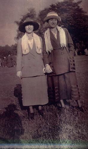 Mrs A. Hertz, 1920s.