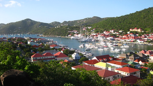 Gustavia from Fort Carl