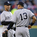 Derek Jeter and Alex Rodriguez