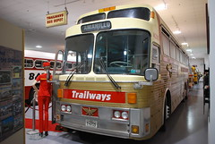 Trailways 42303 (crown426) Tags: 1971 eagle pennsylvania hershey goldeneagle motorcoach aaca charterbus museumbus continentaltrailways mobt eagle05 antiqueautomobileclub museumofbustransportation 05model