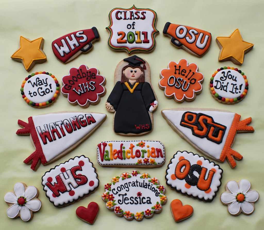 Jessica's Graduation Cookies