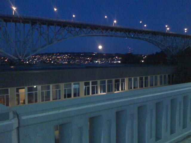 full moon from Fremont