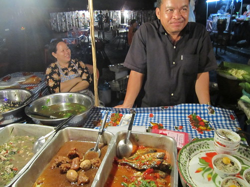 At the Vientiane night market