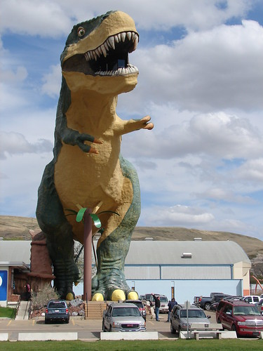 The World's Largest Dinosaur #1, Drumhel by gripso_banana_prune, on Flickr