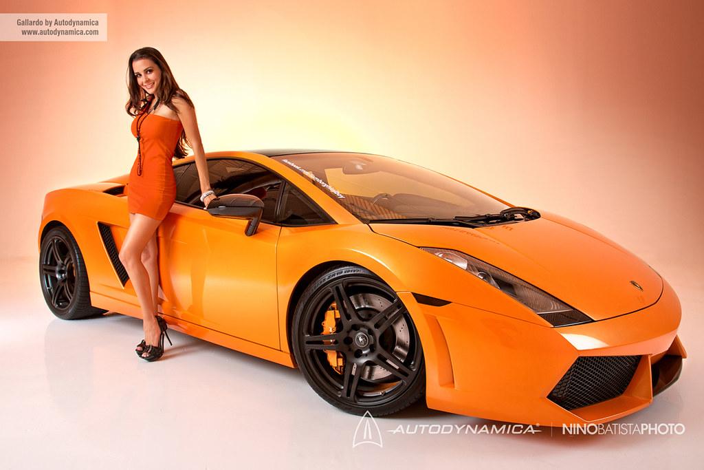 Pictures: Gallardo by Autodynamica and Model - Teamspeed.com
