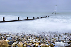 I am the sea, Selsey (Sean Hartwell Photography) Tags: sea seaside pebbles waves ocean beach groynes selseybill selsey westsussex sussex england english british winter movement motion water leefilters