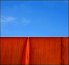Sera (paololongo48) Tags: abstract cielo di astratto parete sera ruggine ferro