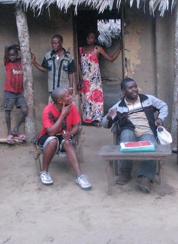 Maurice  with Deputy Bushiri