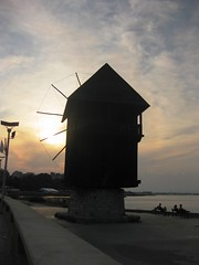 ,  (Diliana Peeva) Tags: windmill bulgaria blacksea nessebar