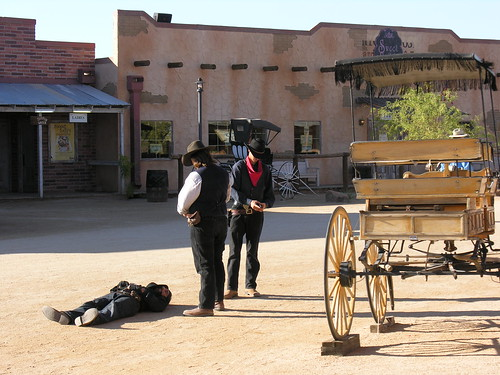 Shoot out at Rawhide