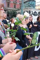 Srebrenica vigil