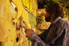 Morro da F/RJ (ALEKDOUM) Tags: brasil riodejaneiro graffiti rj grafiti noturna noite hiphop periferia favela jovem pintura juventude grafite artederua comunidade arteurbana ratao comunidadepopular rato culturahiphop espaopopular ratodiniz rataodiniz morrodafmorro