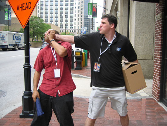 Otakon 2007 - Press Relations Punch (Click to enlarge)