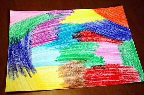 Color entire paper
