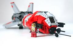 Taiidan Raptor 02 (Stefan Schindler) Tags: lego space homeworld moc starfighter taiidan