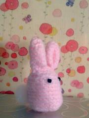 bunny pink (side-flower bg)