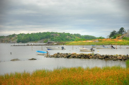 Göteborg boats, HDR