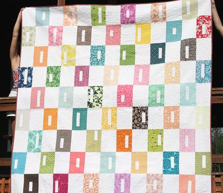 sunny squares quilt