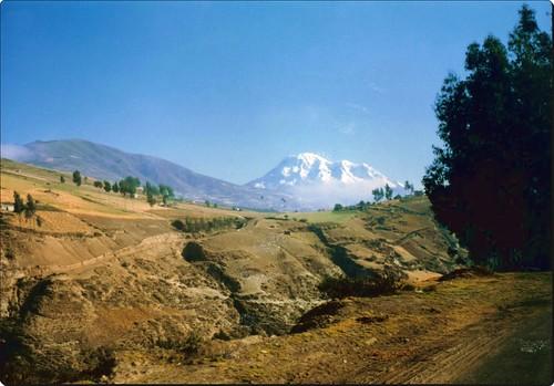 paisaje de la ruta de los volcanes Ecuador
