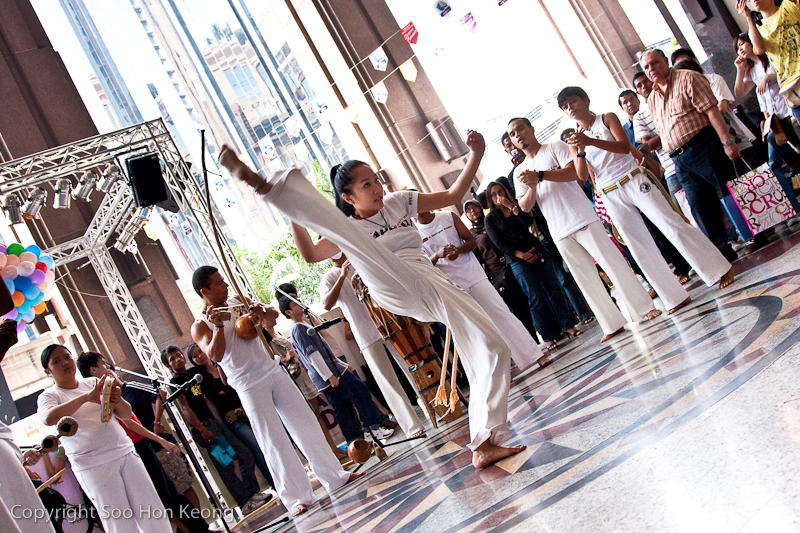 Capoeira @ Berjaya Times Square, KL, Malaysia