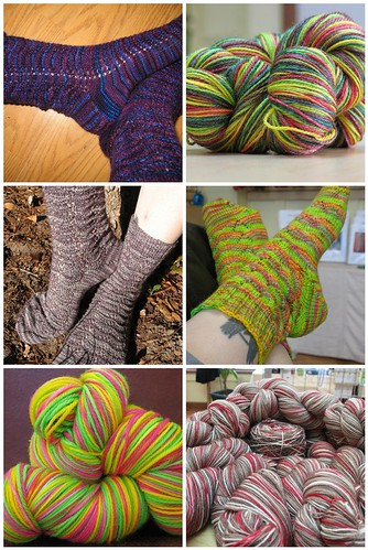 2008/2009 Hanks Yarn and Fiber sock club