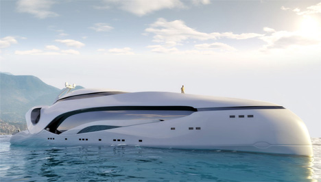 The Oculus Luxury Yacht