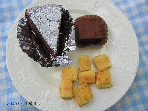 4H House 布朗尼、起司蛋糕與生巧克力