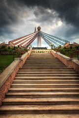 Divine Mercy Shrine (the-earth-colors) Tags: sky beauty clouds canon landscape fun eos goodness shrine flickr ray god earth glory philippines jesus ps explore gb crown rays ladder tone efs 1022mm hdr pinoy glendon uwa earthcolors adiks misamisoriental photomatix nimal singleraw 40d photoshopcs4 macquinto garbongbisaya exploredtoday utata:project=greatdayforup