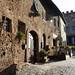 Via Boccaccio in the shadow of Palazzo Pretorio