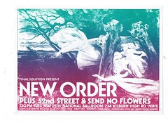 New Order, 52nd Street at the National Ballroom, London 1982 (Superbawestside1980) Tags: punk post