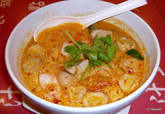 Tom Yam Noodle Soup, Bangkok Thailand