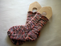 Pot Pourri Socks, Finished