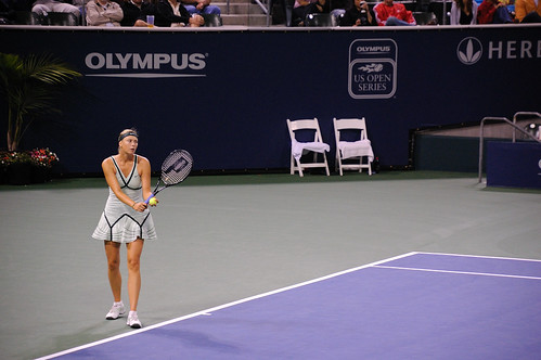 Urszula Radwanska - Maria Sharapova at 2009 LA Women's Tennis Championships