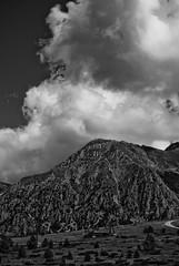 Her Majesty The Cloud (Subtitle Little Bit Doomy Too...) (Andrea_b.) Tags: sky bw italy mountains nature clouds nationalpark marche naturalmente ussita montisibillini frontignano fujis5pro bwartaward bwlifeshot