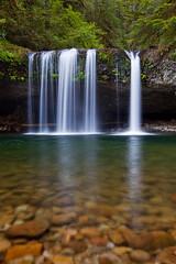 Butte Creek Falls (Jesse Estes) Tags: 1635 buttecreekfalls 5d2 jesseestesphotography nolongerevenhasamap causeheburneditup