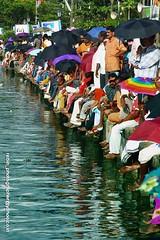 racing spirit (Rebinson) Tags: people festival gallery kerala colourful riverbank viewers snakeboat waterrace vallamkali rebin champakkara jalolsavam