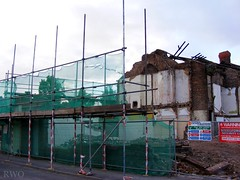 Church Road, Tranmere (Liverpool Suburbia) Tags: demolition 2009 wirral tranmere churchroad seymourstreet ch42