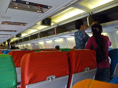 Penang Aug 09 - 02 Inside the plane