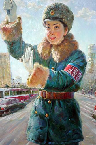 Traffic Policewomen Paintings - Art from North Korea 3906511577_033f0ecdf9