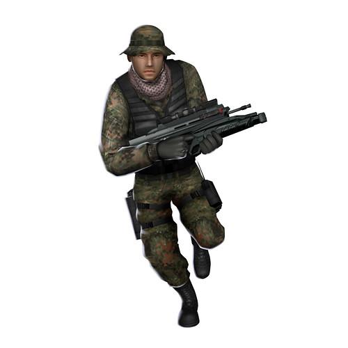 SOCOM Fireteam Bravo 3 GERM