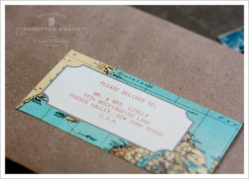 label wrap close up