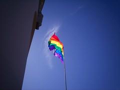 Rainbow Flag, Castro & Market, 9/17/09