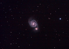 M51 (kappacygni) Tags: canon whirlpool galaxy m51 450d eq6 astro:subject=m51