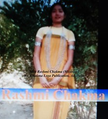 Miss Rashmi Chakma (Bhante Pragya) Tags: pragya chakma mizoram bhikkhu bhante
