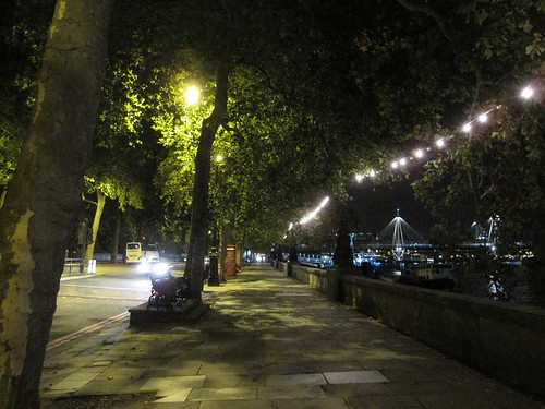 Along the Embankment