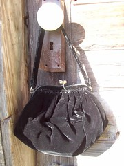 Vintage Black Friday (junkgirl-studio) Tags: vintage purse blackvelvet